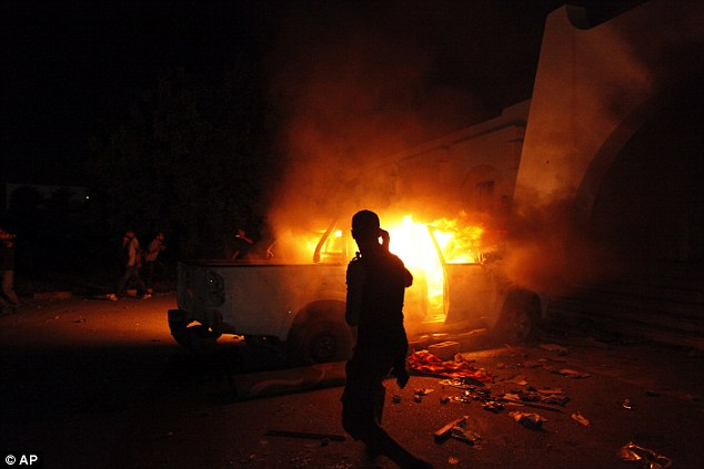 COVER-UP? The Benghazi, Libya terror attack in 2012 is already the subject of numerous Republican claims that Clinton sought to hide the truth from voters and Congress