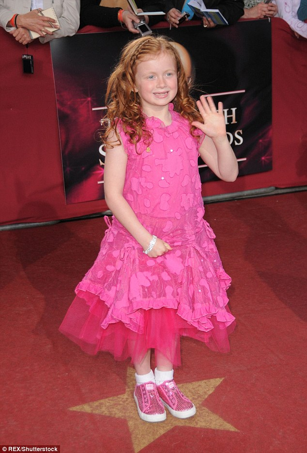 All grown up: Maisie is best known for her role as mischievous Tiffany Butcher on EastEnders, making her soap debut aged just six
