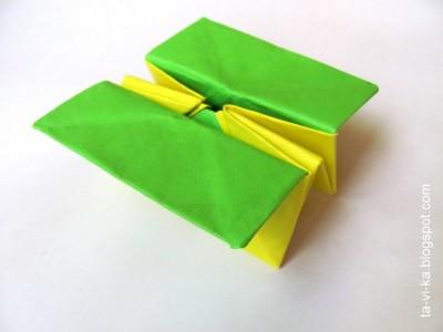 Сказка оригами про крестьянина