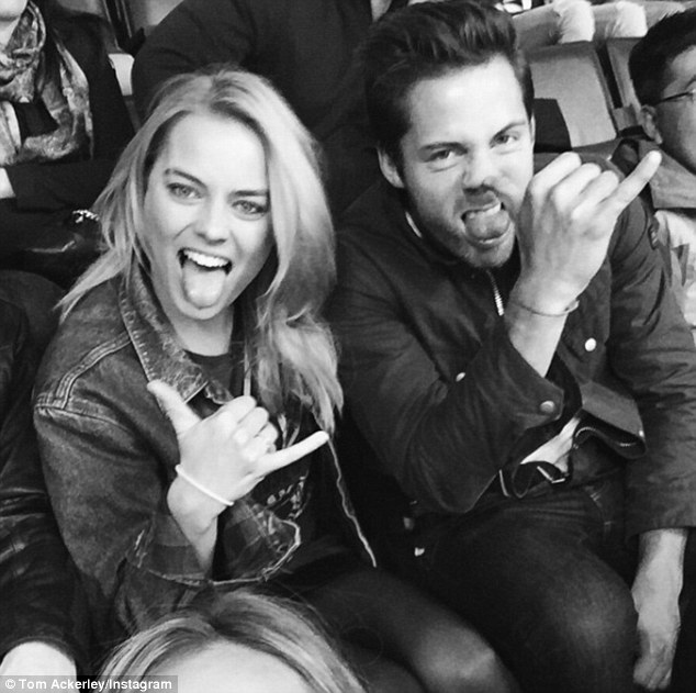 Taking no risks! The Suicide Squad actress and her husband Tom Ackerley (right) kept her Byron Bay nuptials hush hush by mandating a media blackout