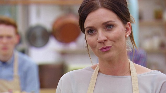 In a mood...The 31-year-old P.E. teacher revealed she found it 'heartbreaking' when she served raw bread in the third week when she stunned fans and hosts with her offerings of raw dough, a collapsed chocolate loaf and an ill-tempered tantrum