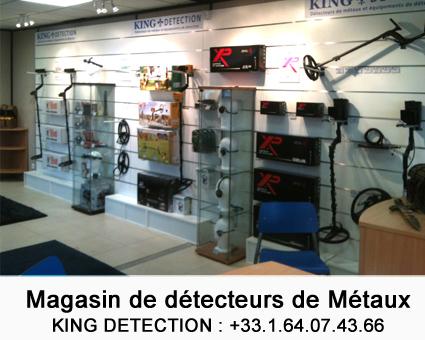 magasin de détecteur d'or