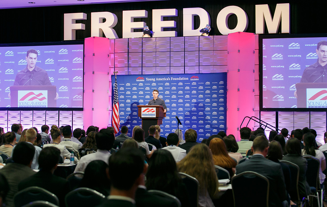 """<span style=""""font-weight:bold;"""">GET NOTIFIED ABOUT YAF'S UPCOMING 2017 CONFERENCES AND SEMINARS<span>"""