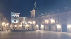 Madrid por la noche. Noviembre 2016.