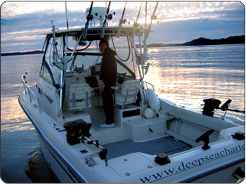 Boat Picture with The Captain of our Prince Rupert Fishing Charter