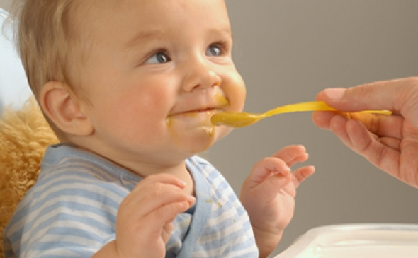 Introducing Solid Foods: The Beginning