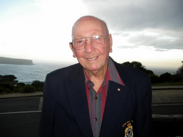 Don Ritchie has prevented at least 160 suicides at &amp;#039;The Gap&amp;#039; near Sydney, Australia<br>&amp;copy; Photo: Ian Woolf - http://www.ianwoolf.com/