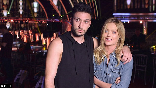 Devastated: Speaking on the show with dance partner Giovanni Pernice, she revealed how 'gutted' she was to be missing out