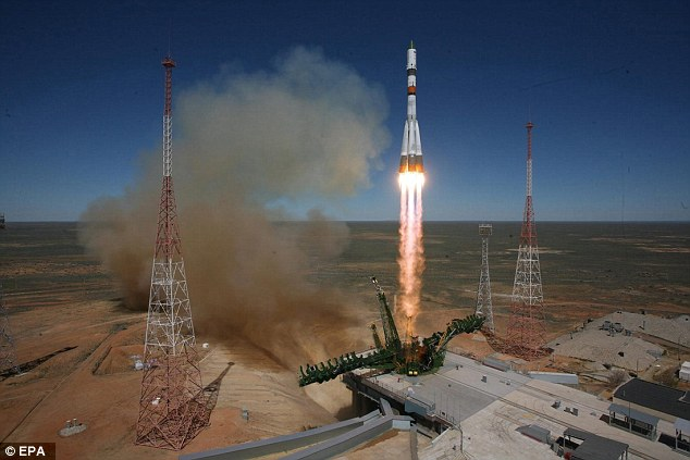 Roscosmos' problems began shortly after a Russian Soyuz 2-1A rocket launched the latest Progress resupply vehicle to the ISS.'Almost immediately after spacecraft separation, a series of telemetry problems were detected with the Progress 59,' a Nasa spokesperson said during a televised broadcast from Mission Control