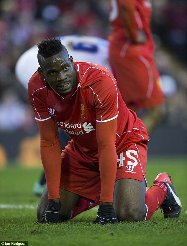 But Balotelli's return to English football has been a perpetual struggle