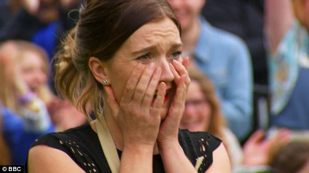 Candice Brown was overcome with emotion as she was announced at the winner of the show