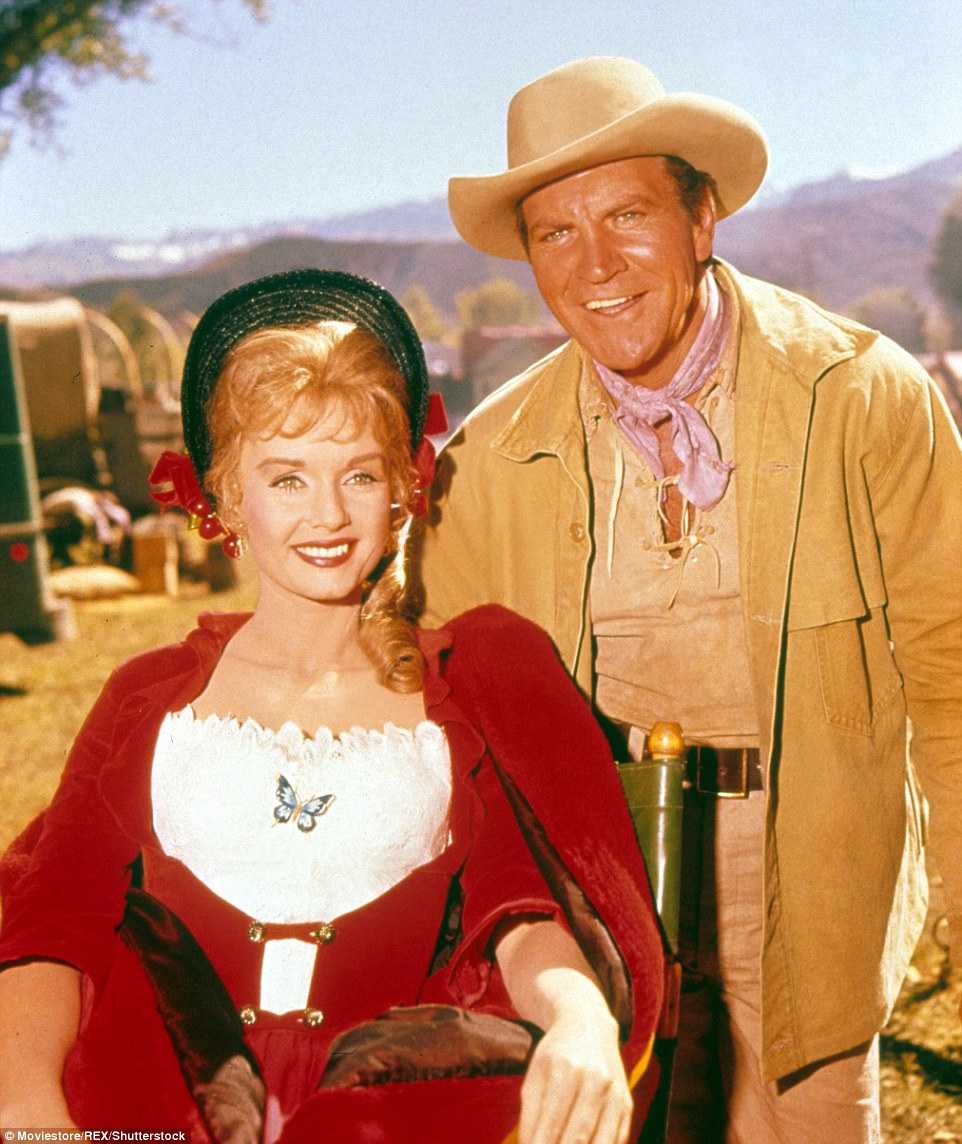 And starred with the likes Henry Fonda, Gregory Peck and John Wayne in How The West Was Won in 1962 (above)