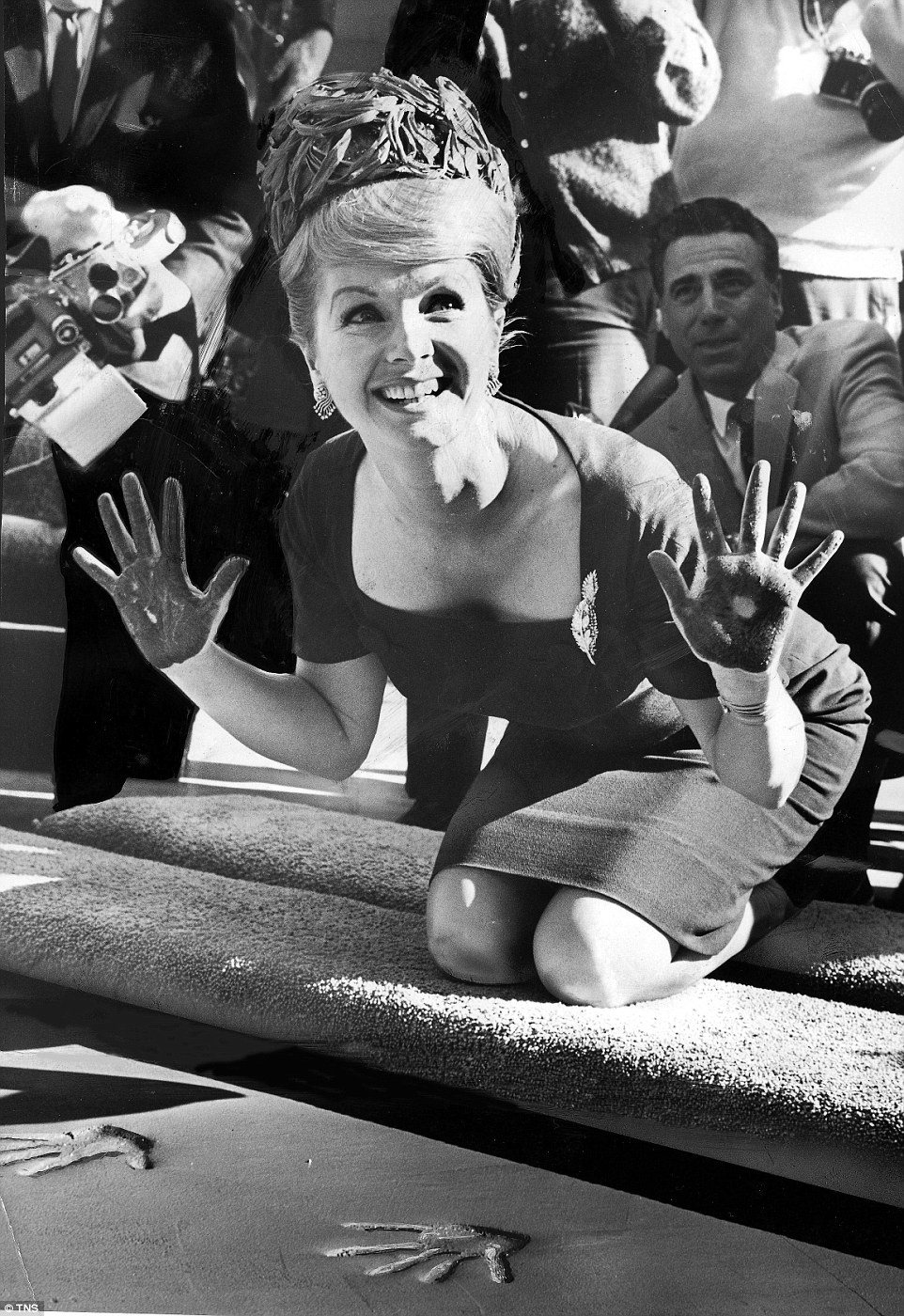 Debbie was such a household name by the mid-1960s, she was invited to leave her mark on the street outside Grauman's Chinese Theatre in Hollywood