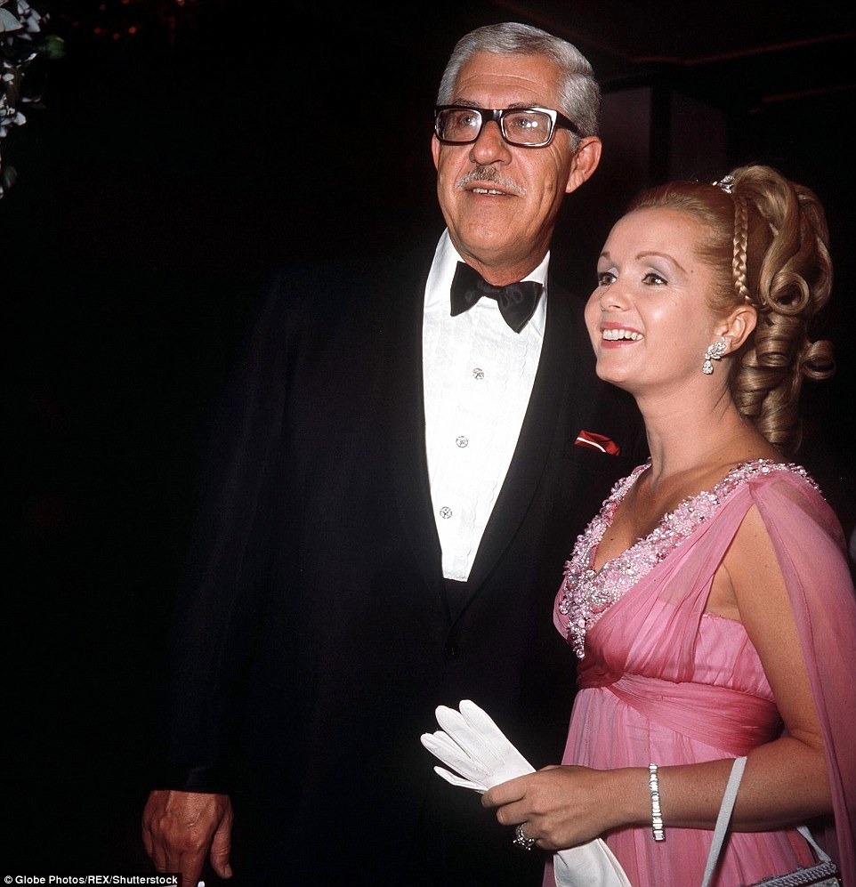 Her second marriage, to shoe businessman Harry Karl, (pictured together in 1972) ended in 1973 after he gambled away most of her money. Financial reasons compelled her to keep working