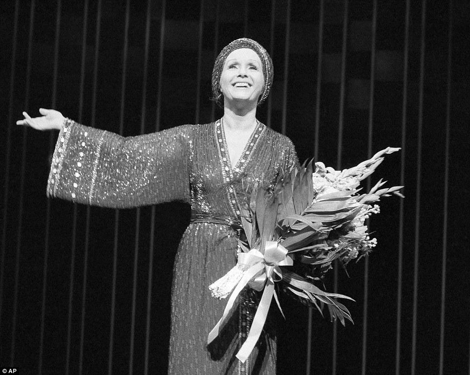 Reynolds took to the stage in New York and London after she stopped starring in movies. Reynolds' theatrical performances took her to the West Coast, then in 1981, she returned to Broadway to take over the lead in 'Woman of the Year' (pictured)