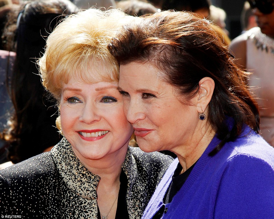 Both mother and daughter (pictured together at the 2011 Primetime Creative Arts Emmy Awards in Los Angeles, 2011) both shared  long Hollywood careers, and an irreverant sense of humor