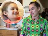 Miley Cyrus was brought to tears by young cancer patient Julia Davidson. The child, who is battling an aggressive form of child cancer Neuroblastoma, sang Rainbow Connection for the pop star and her fiance Liam Hemsworth on Thursday.  The couple were visiting Rady Children's Hospital in San Diego, California, and were brought to tears by the young performer's rendition.    Read more: http://www.dailymail.co.uk/tvshowbiz/article-4077838/Miley-Cyrus-breaks-tears-hears-young-cancer-patient-sing-San-Diego-children-s-hospital.html#ixzz4UQInXgLG  Follow us: @MailOnline on Twitter | DailyMail on Facebook