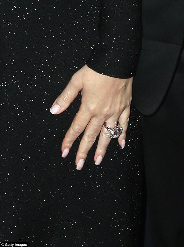 Keeping the rock? The glossy magazine claims that the business tycoon has allowed Mariah to keep her $10m diamond engagement ring