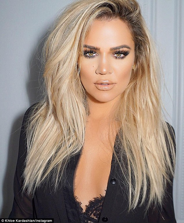 'I love FaceTune, that one¿s great' Khloe said of the popular phone app what smooths out your complexion