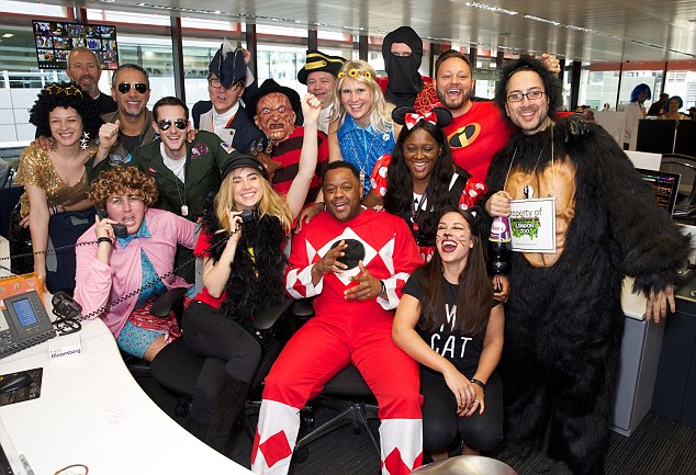 All the stars!The annual star-studded charity day is an opportunity for the financial community to throw support behind charities by donating trading commissions to a variety of charities