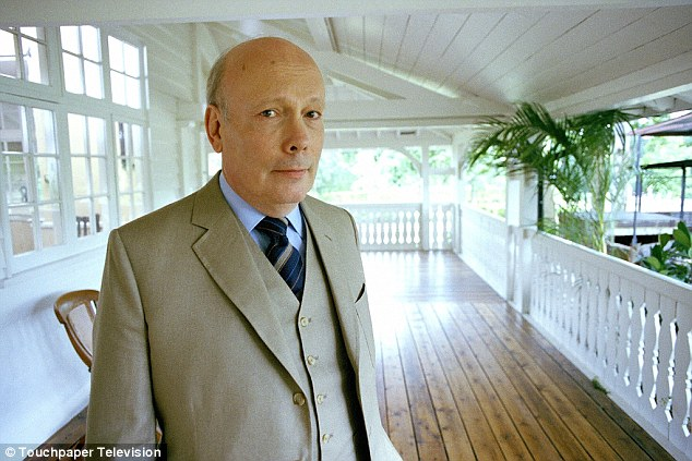 'No one would accuse Downton Abbey creator Lord Fellowes (pictured) of being a shrinking violet'