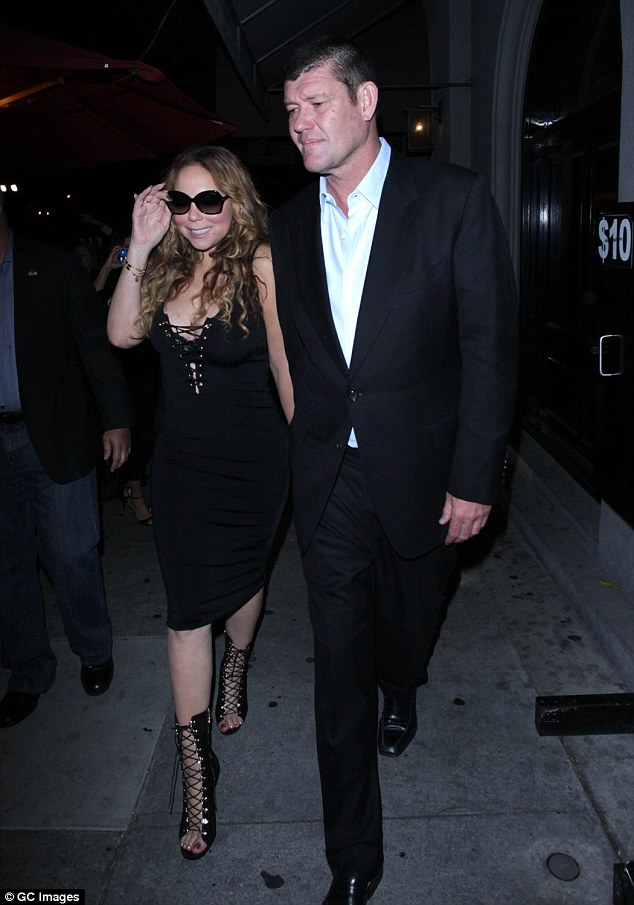 Former heartbreaks: Both James and Mariah have learned a few lessons in love over the years with the pair having pieced together broken hearts from failed past romances