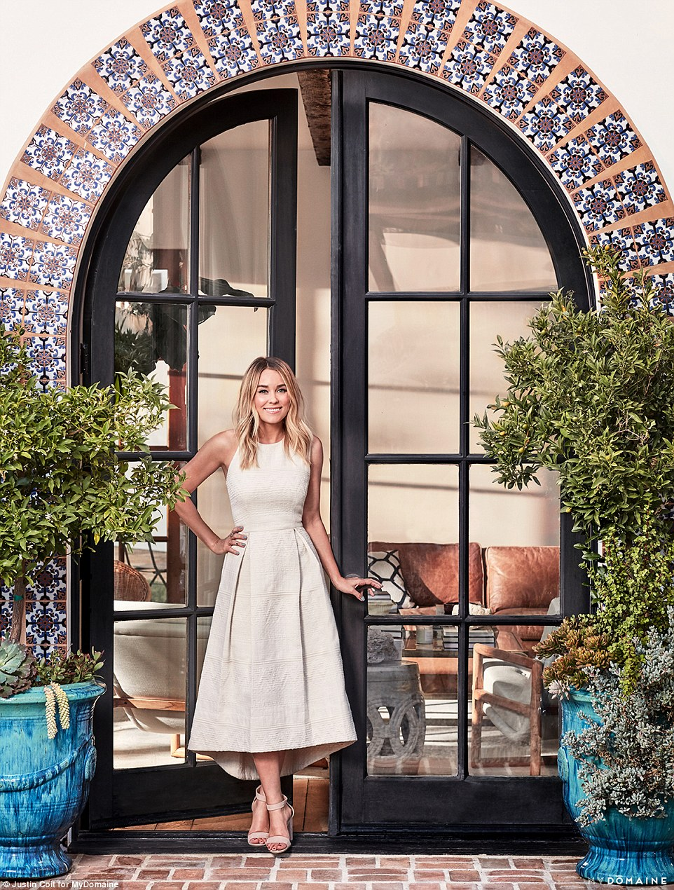 Building her empire: This home is part of her $20 million property portfolio