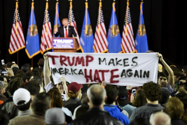 Donald Trump protester paid $3,500