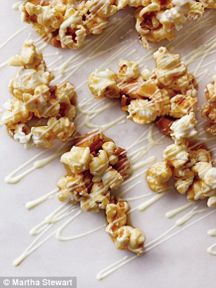 Do things a bit differently: You don't have to come up with new recipes to keep things interesting - just put an exciting spin on an old favorite like caramel corn or caramel apples