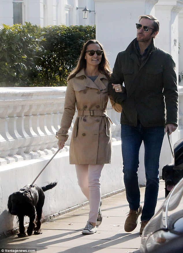 Pippa and James will reportedly get married in 2017 and the bride-to-be has already been looking at designer dresses