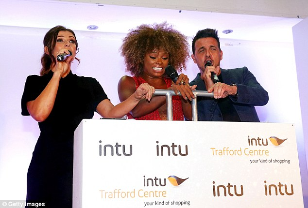 The final countdown: The trio launched into the big switch on
