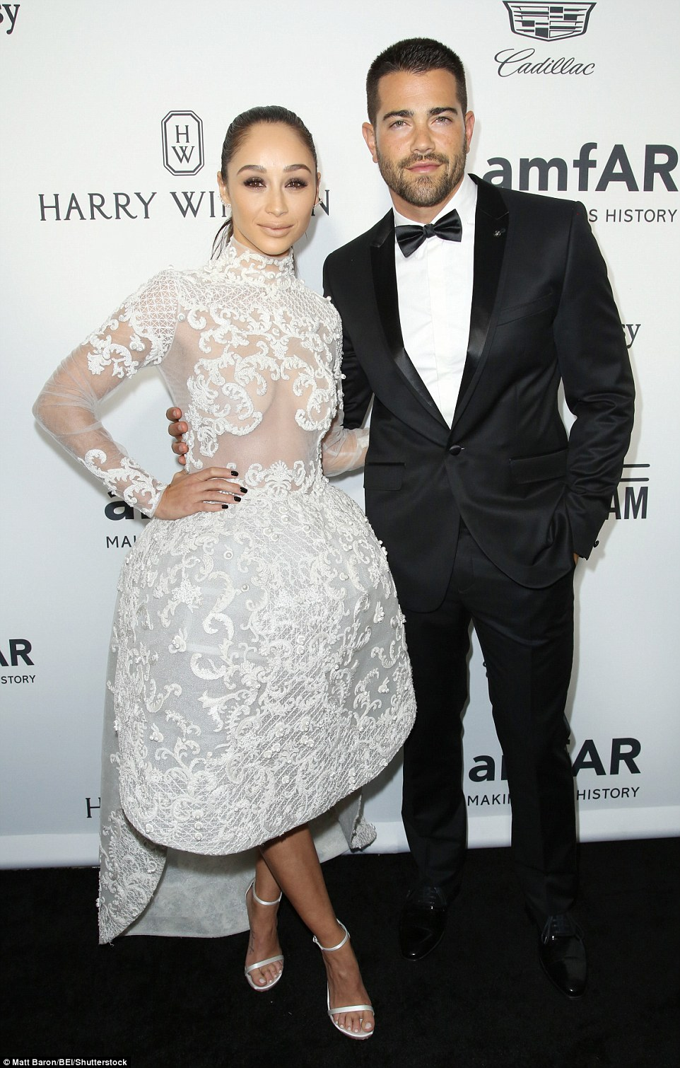 Date night!Cara Santana and her fiance, Jesse Metcalfe, made it a date night as they attended the star-studded event together