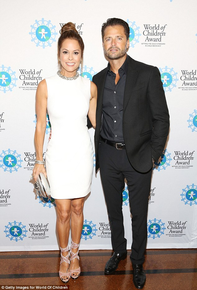 Dynamic duo:Brooke Burke and singer David Charvet also attended the awards ceremony