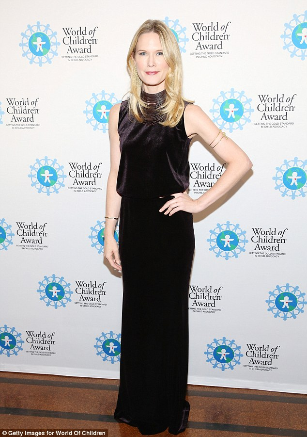 Honoured: Actress Stephanie March received the Board of Governor's Award at the event