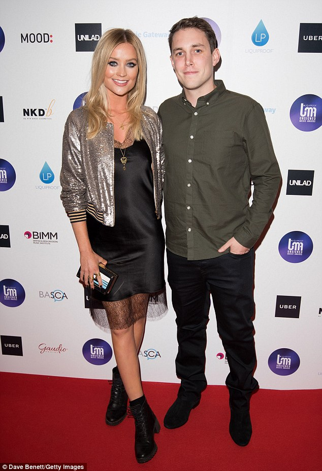 Hosts with the most: Laura was on hand to front the event with Radio One's Chris Stark