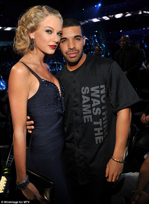 Love-interest?:The outing comes after rumours of a romance between he and Taylor Swift as he even introduced her to his mom and friends according to a Thursday report from TMZ, as they are pictured together at the 2013 MTV VMAs