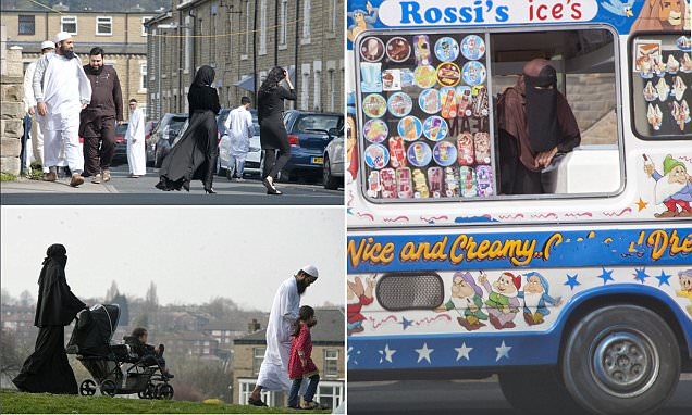 Savile Town in Yorkshire that has almost no white residents
