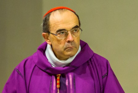 Lyon Cardinal Barbarin during the 450 years of Jesuits education