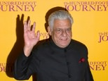 Acclaimed Bollywood actor Om Puri, who aslo played a role in Richard Attenborough's epic Ghandi, has died in Mumbai aged 66 ©JUSTIN TALLIS (AFP/File)