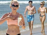 EXCLUSIVE: SCOTTISH SINGER TALLIA STORM AND BOYFRIEND SAM REGAN ARE SPOTTED ON THE BEACH WHILE ON HOLIDAY IN BARBADOS. REGAN ARRIVED ON THE CARIBBEAN ISLAND LATE WEDNESDAY. ***FIRIST PICTURES WITH TALLIA AND SAM TOGETHER***. 04 Jan 2017 Pictured: TALLIA STORM & SAM REGAN. Photo credit: Shakeira Farnum-Islandpaps.com/MEGA TheMegaAgency.com +1 888 505 6342