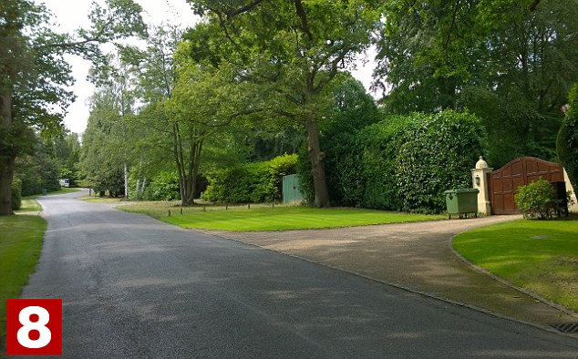 The average price of a property in the exclusive area of Camp End Road, in Weybridge, is £5,164,000