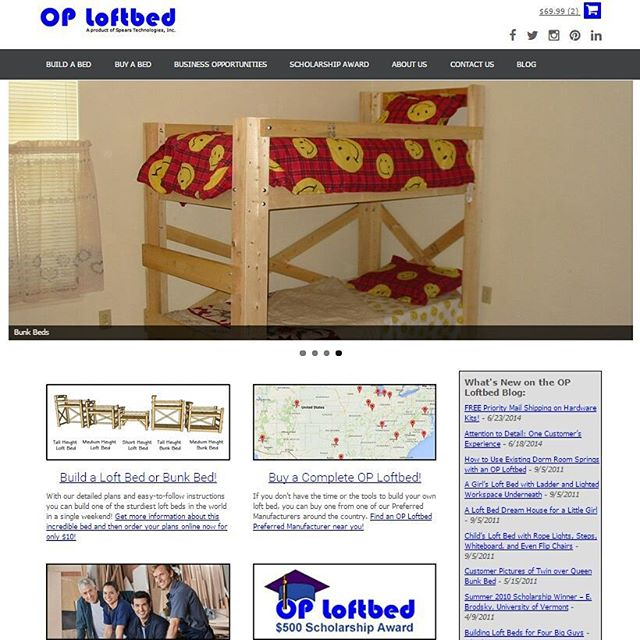We're all really excited about the new OP Loftbed website redesign! What do you think. http://www.oploftbed.com/articles/the-op-loftbed-website-has-been-redesigned/