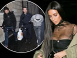 PARIS, FRANCE - OCTOBER 01:  Kim Kardashian West is seen on October 1, 2016 in Paris, France.  (Photo by Marc Piasecki/GC Images)