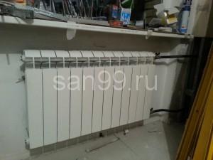 Установка радиатора в Москве