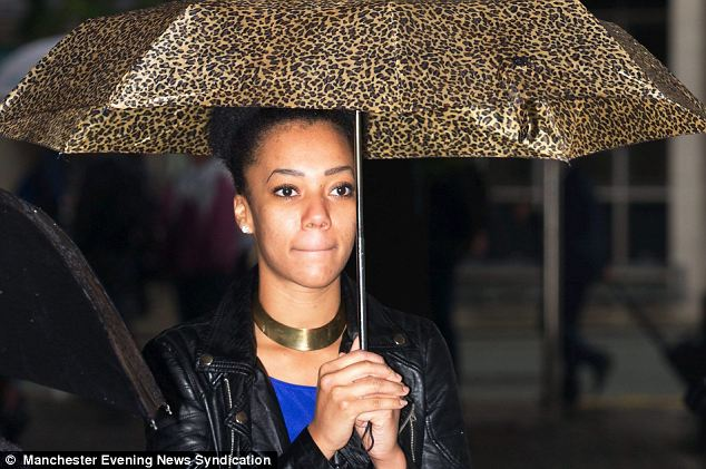 'Naive': Fashion marketing student Ogunyemi, Bammeke's girlfriend at the time, helped him launder the proceeds by putting funds in accounts, hiding cash and allowing him to buy her a £2,400 Vauxhall Corsa