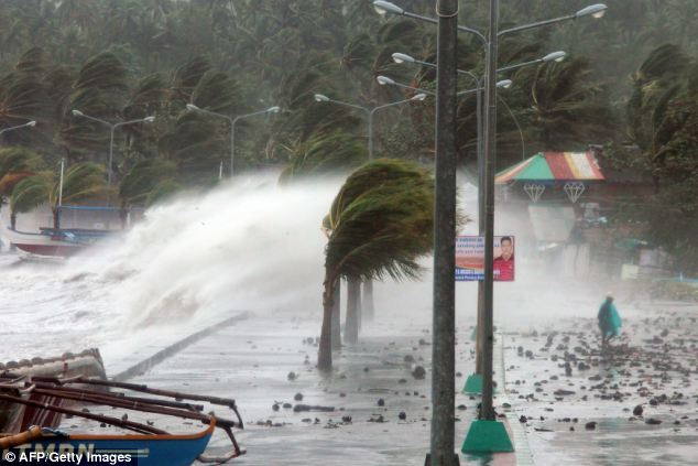 More than 5,000 people were killed and up to four million people displaced when Super Typhoon Haiyan hit on November 8.