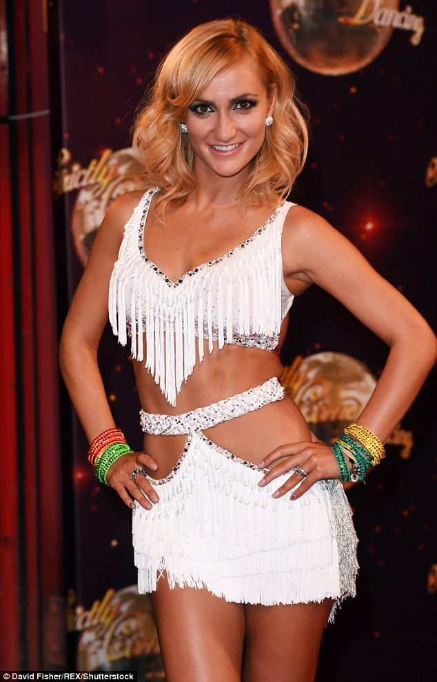 Dreams come true:The exciting news comes after she reportedly quit Strictly Come Dancing last year in order to start a family