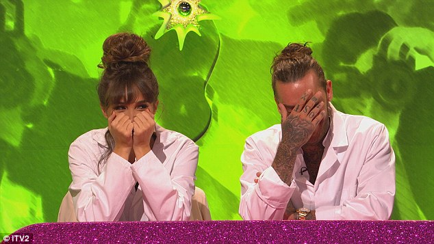Genuine: Megan reveals her stunned reaction after being informed of Pete's fecklessness by pal Danielle Armstrong was completely unscripted