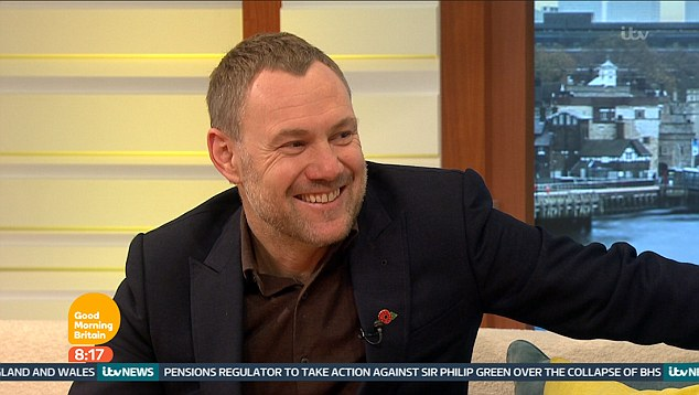 Stopping by: The musician was on the early morning TV favourite to promote his new greatest hits album, The Best of David Gray, when Ben was left reeling after his gaffe