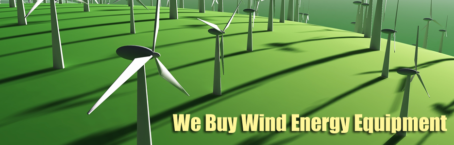 wind farm equipment buyers